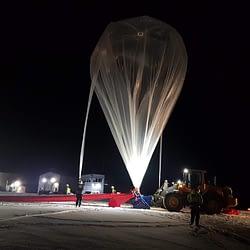 Aufblasen unseres Ballons