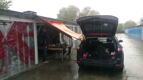 Die Anfänge von STAR in einer Garage im Randbereich von Dresden